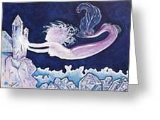 Mermaid Pink Greeting Card