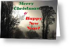 Merry Christmas And Happy New Year 2 Greeting Card
