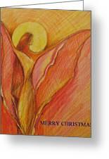Merry Christmas Greeting Card by Brigitte Hintner