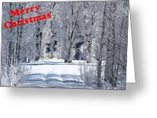 Merry Christmas Card 1 Greeting Card