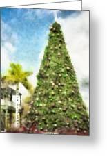 Merry Christmas Tree 2012 Greeting Card