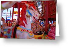 Merry-go-round #2 Greeting Card