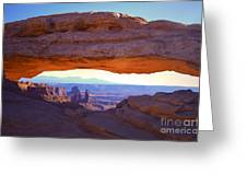 Mesa Arch Greeting Card