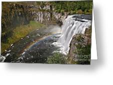 Mesa Falls II Greeting Card