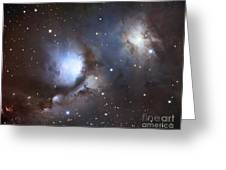 Messier 78, Also Known As Ngc 2068 Greeting Card
