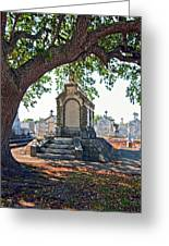 Metairie Cemetery Greeting Card