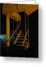 Metal Staircase Greeting Card