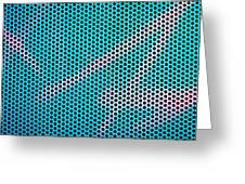 Metallic Background Greeting Card