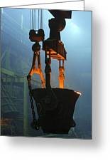 Metalworks Foundry Equipment Greeting Card