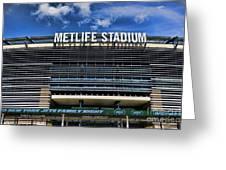Metlife Stadium Greeting Card