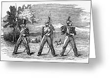 Mexican American War, 1846 Greeting Card
