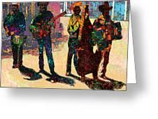 Mexican Conjunto II Greeting Card