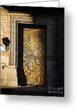 Mexican Door 21 Greeting Card