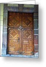 Mexican Door 29 Greeting Card