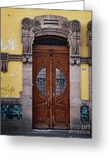 Mexican Door 43 Greeting Card