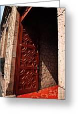 Mexican Door 49 Greeting Card