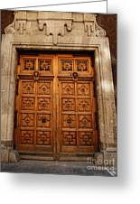 Mexican Door 67 Greeting Card