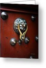 Mexican Door Decor 14  Greeting Card