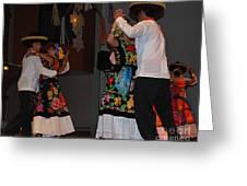 Mexican Folk Dancers 3 Greeting Card