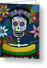 Mexican Lady Greeting Card