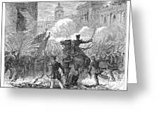 Mexican War: Monterrey Greeting Card by Granger