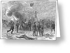 Mexican War: Vera Cruz Greeting Card