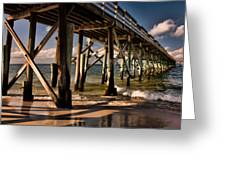 Mexico Beach Pier Greeting Card