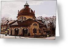 Mexikoplatz Train Station Greeting Card