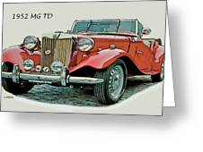 Mg Td Greeting Card