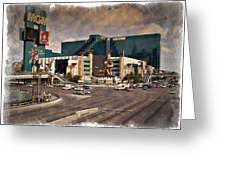 Mgm Grand - Impressions Greeting Card