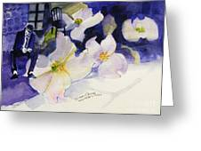 Michael Jackson - Who Is It Greeting Card by Hitomi Osanai