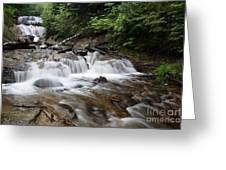 Michigan Waterfall Greeting Card