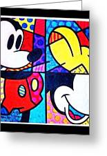 Mickey Colors Greeting Card