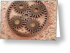 Microcogs Greeting Card