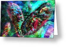 Microscope Dreaming 2 Greeting Card