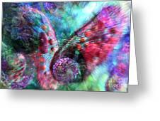 Microscope Dreaming 3 Greeting Card