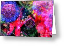 Microscope Dreaming 4 Greeting Card