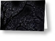 Midnight Tree 1 Greeting Card