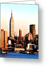 Midtown Manhattan Greeting Card