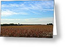 Midwest Farm Greeting Card