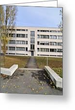 Mies Van Der Rohe Building Stuttgart Weissenhof Greeting Card