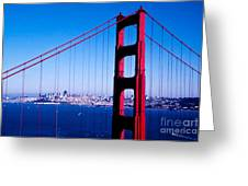 Mighty Golden Gate Greeting Card