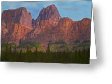 Mighty Mountains Greeting Card