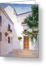 Mijas Spain Greeting Card