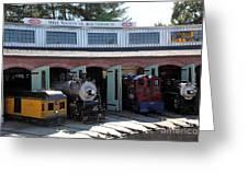 Mike Watson St. Turnhouse - Traintown Sonoma California - 5d19249 Greeting Card