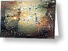 Mikrokosmos Greeting Card by Paulo Zerbato