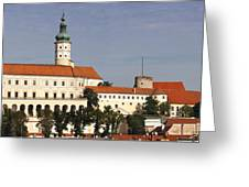 Mikulov Castle Greeting Card