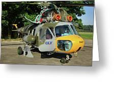 Mil Mi-2 Hoplite Greeting Card