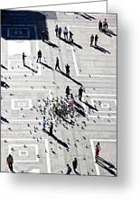 Milan Duomo Square Greeting Card