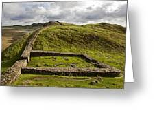 Milecastle 39 Greeting Card